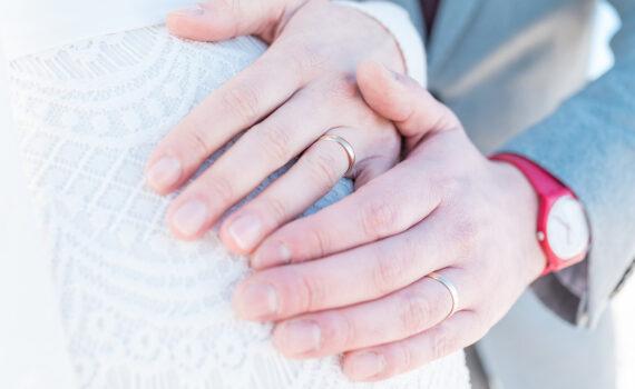 Hochzeit Babybauch