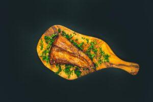 lecker Räucherfisch Foodfotografie